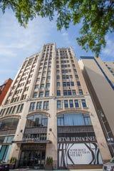 The Metropolitan Building is on John R Street, near Grand Circus Park.