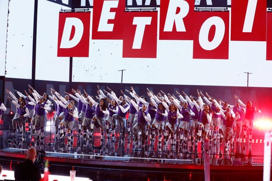 The Detroit Youth Choir sings 'Can't Hold Us' on Sept. 17, 2019 finals of NBC's 'America's Got Talent.'