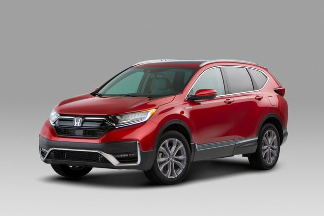 The 2020 Honda CR-V Hybrid was unveiled Wednesday in Detroit.
