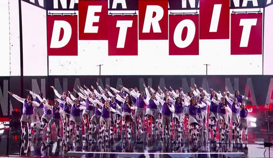 """The52-member choir capped off a dazzling run on the NBCcompetition""""America's Got Talent""""with a show-stopping performance during the show's finals of Macklemore and Ryan Lewis's """"Can't Hold Us,"""" the same song they performed during their first appearance on the show."""