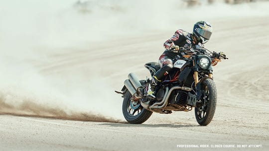 The 1200 S gives riders a sporty alternative to Indian's cruisers and touring bikes.