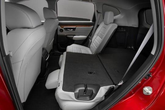 Inside the 2020 CR-V hybrid