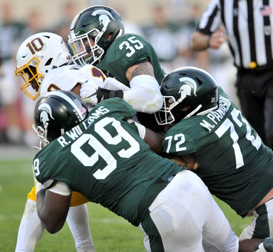 Michigan State is third in the nation in total defense, and second in run defense.
