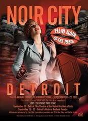 : The poster for this year's NOIR CITY Detroit Film Festival, which is in its 4th year.