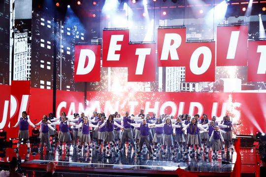 Detroit Youth Choir.