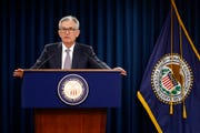 Federal Reserve Board Chair Jerome Powell speaks at a news conference following a two-day meeting of the Federal Open Market Committee, Wednesday, Sept. 18, 2019, in Washington.