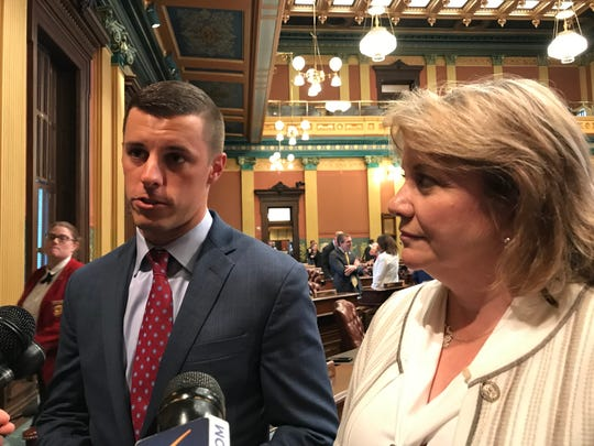House Speaker Lee Chatfield and House Minority Leader Christine Greig told reporters Wednesday that they will vote the school aid budget out of conference committee Thursday morning, then off the House floor so that it is sent to Gov. Gretchen Whitmer's desk before the weekend.