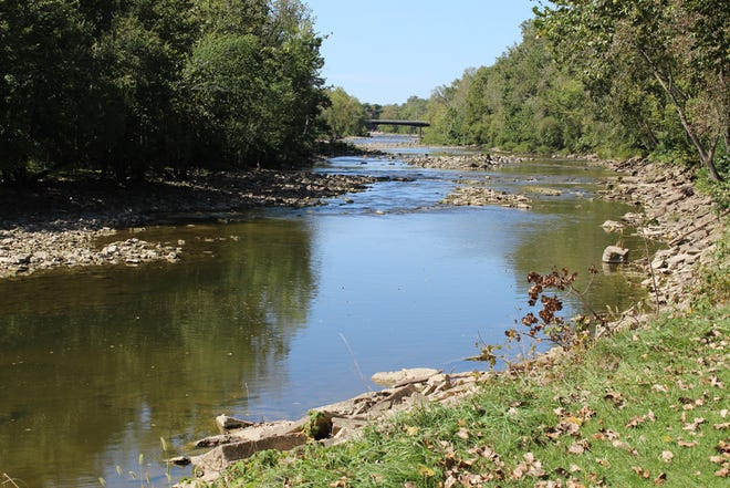 River Cliff Park is adjacent to the Sandusky River. The Sandusky County Park District plans to continue making improvements to the park.