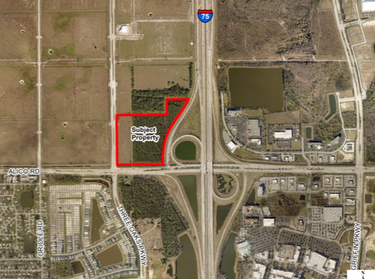 Lee County is advancing a plan to add housing to a commerical and iindustrial site next at the I-75 / Alico Road interchange. But few details  have been released.