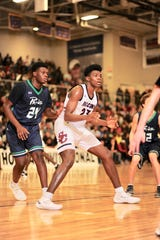 Montverde Academy's Day'Ron Sharpe has committed to North Carolina. He is rated 20th on the ESPN 100 and 18th by 247Sports in their preseason top recruits lists.
