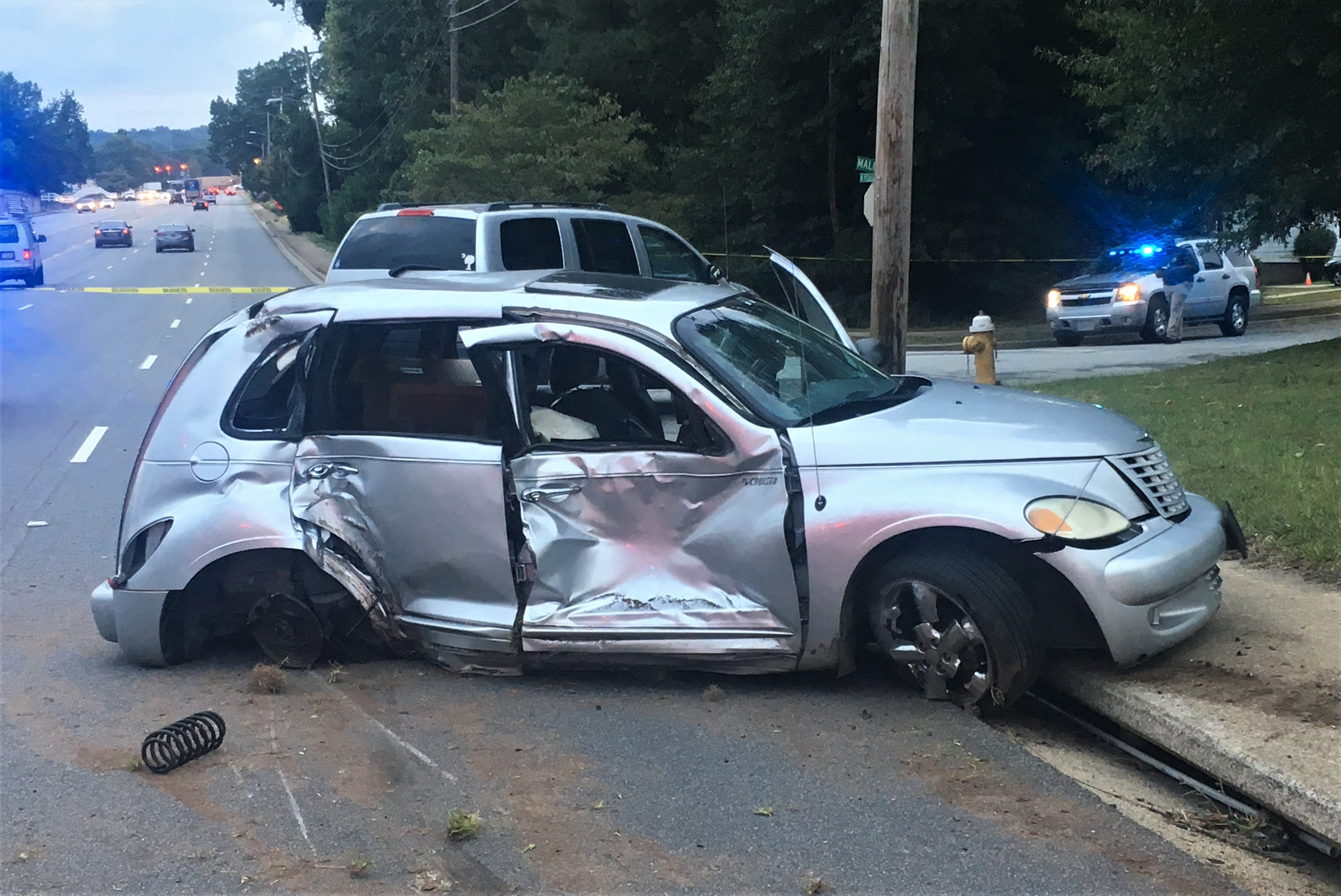 Police: Road rage incident leaves 13-year-old seriously injured, driver was going 75 mph
