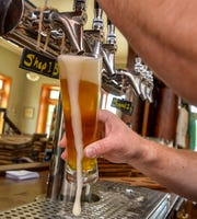 """Instead of trying to compete against existing breweries, Golden Triangle is planning to craft beers specific to communities in the region that don't already have a brewery.  """"I think that's our twist on distribution,"""" said Brandon Roberts, co-owner of the brewery."""