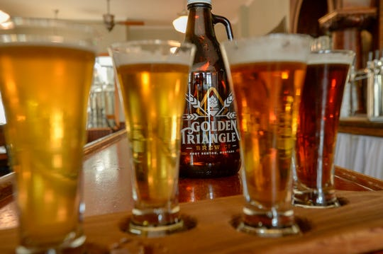 The couple has worked with local historians to create unique names for their brews such as Shepweizen, Signal Point Scottish-Style and Meagher's Last Swim to tie in with the rich history of the community.