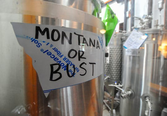 Stacia Fuzesy said she and Roberts were living in the Flathead when they began scouting out smaller communities in Montana to establish a brewery in a community that they fit in with. She said she fell in love with Fort Benton instantly.