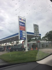 Gas prices for regular unleaded gasoline increased 15cents from $4.10 to $4.25 atMobil gas stations Sept. 18.