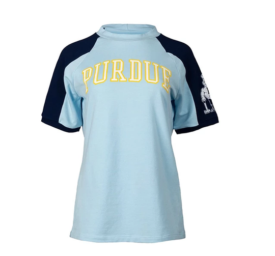 """A recreation of the shirt seen on""""Stranger Things"""" available for pre-order on the Purdue Team Store website."""