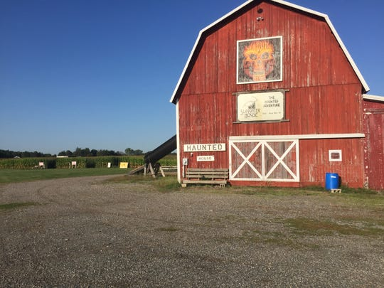 Slaughterhouse Adventure & Grand River Corn Maze, shown Wednesday, Sept. 18, 2019, in among a few haunts happening in Livingston County this fall.