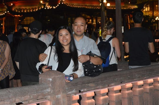 Zoe Halbeisen and her birth father Chen Xin Zhong during her recent visit to China. Zoe grew up in Charlotte and graduated from Grand Ledge High School.