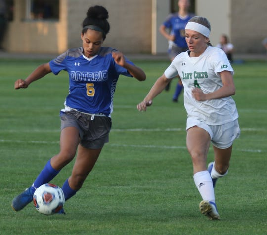 Ontario's Kyla Spencer returns as the Lady Warriors leading scorer after she knocked home 23 goals as a freshman.