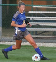 Ontario's Abby Potter recorded a hat trick in an 11-0 win over Pleasant on Tuesday.