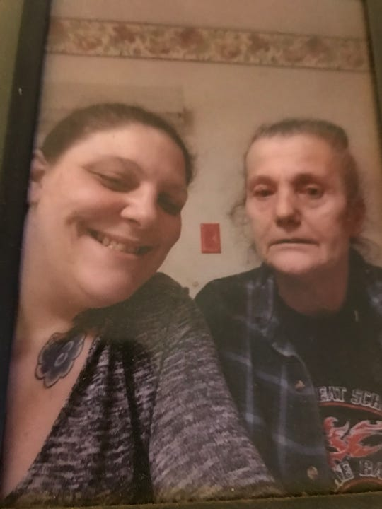 Ashlee Stull, 30, of Mansfield, at left, died Oct. 4, 2018 of a drug overdose. Her family wants justice and wants authorities to charge the person who sold Stull the drugs. In the photo with Stull is her stepmother, Betty Cooley.