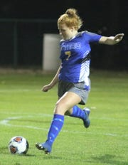 Ontario's Ava Ruhe scored the game's only goal in a 1-0 win over Clear Fork on Tuesday night.