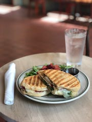 The Roasted Chicken Panini at Cafe Keough on Main Street.