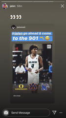 Memphis Grizzlies rookie Ja Morant has made multiple efforts to encourage 5-star guard Jalen Green to commit to the Memphis Tigers.