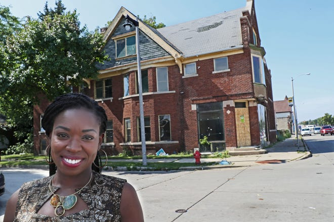 Bria Grant plans to redevelop a vacant building at 2501 W. North Ave. into two upper-level apartments, a restaurant and the new offices for UniteWI Inc.