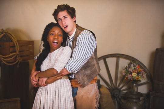 """Brittani Moore and Lucas Pastrana star in Skylight Music Theatre's production of """"Oklahoma!"""""""
