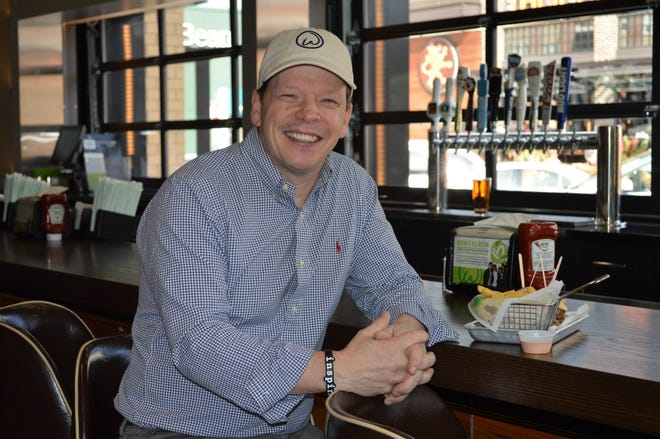 Paul Wahlberg said he has been a chef his whole life, but the type of food served at Wahlburgers is the food he really loves to eat.