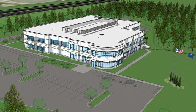 The new headquarters for Angelus Corp. will be in the city of Pewaukee. It is expected to move into the new location next summer.