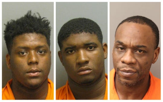 Jatayvious Smith, Robert Williams and Tyrone Foxhall were charged with first-degree assault and first-degree robbery.