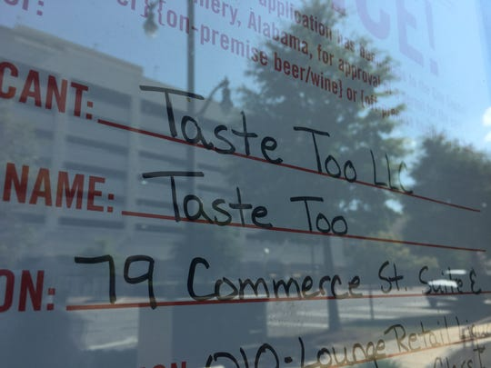 Taste Too has applied for a liquor license for its downtown location.