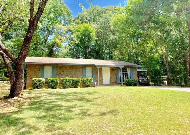 One Mayfair home in Montgomery is for sale for $88,000 and offers three bedrooms and two bathrooms within 1,144 square feet of living space. The house is located on a quiet cul-de-sac.