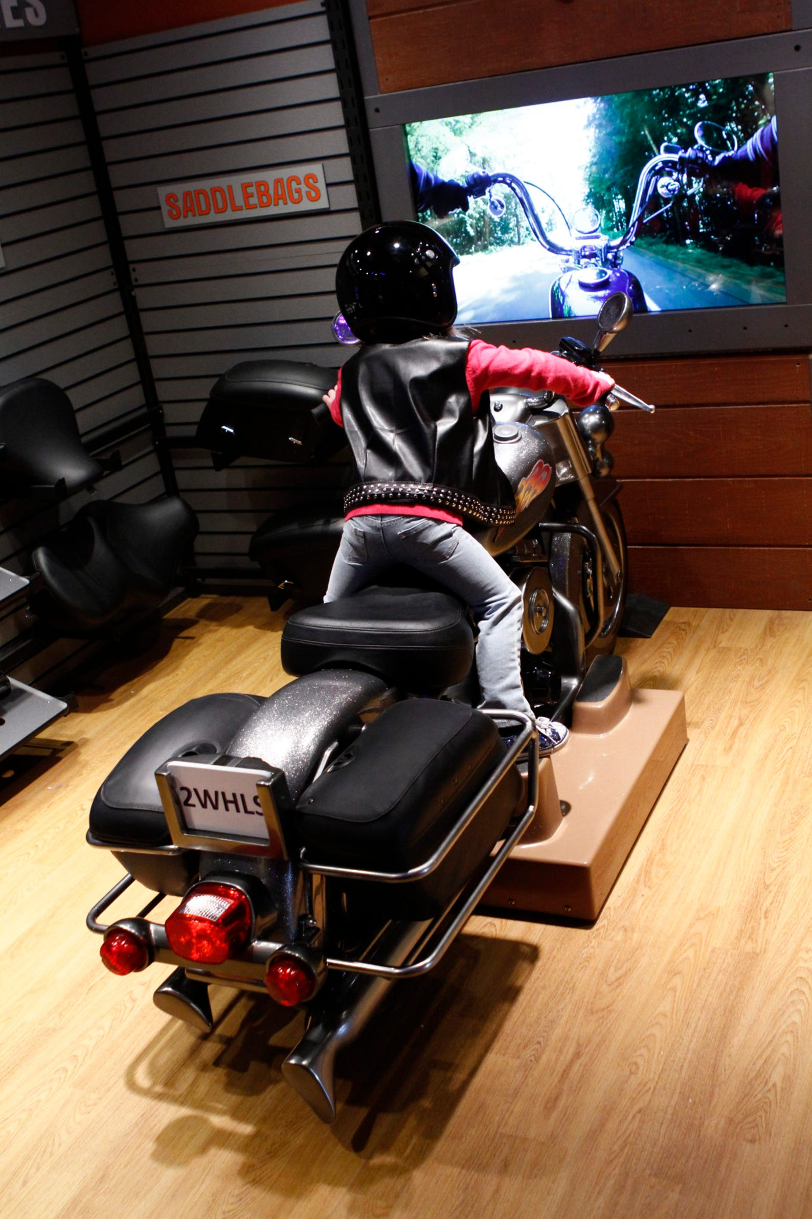 Hands-On Harley-Davidson exhibit on display at Discovery Center
