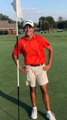 Blackman freshman golfer Lofton McRee.