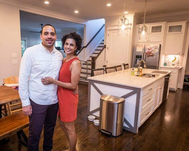 Drs. Reza Imani and Cecily Montgomery purchased their home in Nashville's 12 South neighborhood through First Tennessee, which has a medical banking group that offers special terms to physicians beginning their careers.
