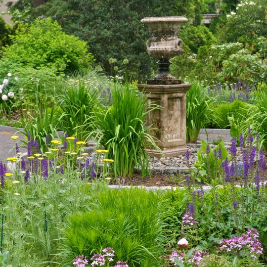 The gardens at Van Vleck House and Gardens in Montclair will be the site of an evening talk next Wednesday on creating a healthy backyard habit for birds. September 2019.