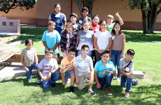 Fourth-grade students in Mrs. Mary Ortiz's class at Chaparral Elementary School took in the Deming-Luna-Mimbres Museum as part of a history of New Mexico lesson. The students toured the many artifacts in the museum and enjoyed a play day at the adjacent Veteran's Memorial Park.