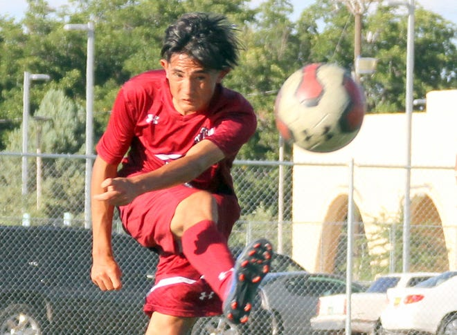 Senior Cipriano Gonzalez powered the Deming High Wildcats with two goals on Tuesday to help defeat the Desert Warriors of Santa Teresa High School.