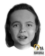 Unidentified girl referred to as Madisonville Jane Doe