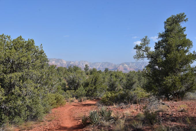Great Sedona views abound on the Western Gateway trails.