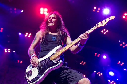 Iron Maiden's Steve Harris comes to Vinyl Music Hall on Monday.