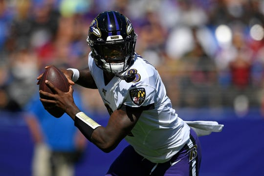 Lamar Jackson and the Baltimore Ravens defeated Kyler Murray and the Arizona Cardinals in their Week 2 NFL game.