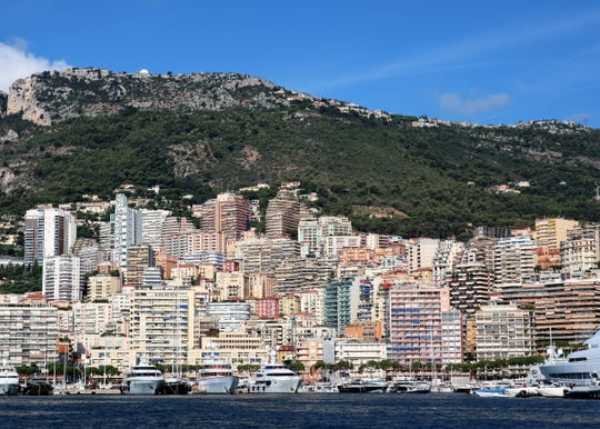 Monaco is the most densely populated country in the world, with a population of 35,000 in less than a square mile.