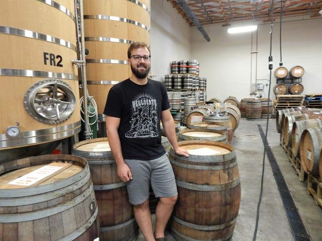 Arizona Wilderness Brewing Co. head brewer Chase Saraiva.