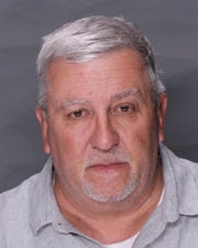 Mike Folmer's booking photo.