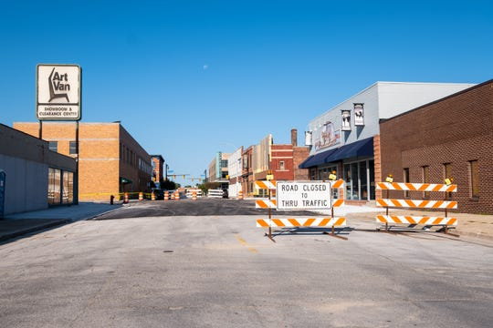 The $3 million reconstruction of Quay and Michigan streets in Port Huron is expected to be completed soon.
