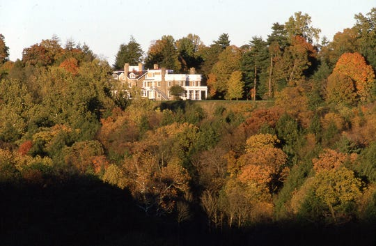 The home of Franklin D. Roosevelt in Hyde Park offers plenty of leaf-peeping possibilities.